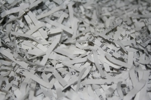 Shredded Paper | © Mike Haw / Wikimedia Commons / CC-BY-2.0